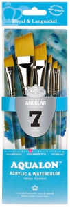Picture of R&L - Aqualon Angular Brush Set (RAQUA-301) 7pc