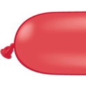 Picture of 350Q Latex Balloons, Red  (100/bag)