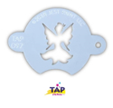 Picture of TAP 097 Face Painting Stencil - Centerpiece Fairy