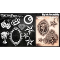 Picture of Tattoo Pro Stencil - BIG INK - Rockabilly (ATPS-BGNK-105)