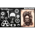 Picture of Tattoo Pro Stencil - BIG INK - Steampunk (ATPS-BGNK-106)
