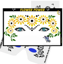 Picture of Flower Power Stencil Eyes -  (8YRS and UP)
