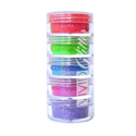 Picture of Vivid Glitter Stackable Loose Glitter - Twister Rainbow 5pc (10g)