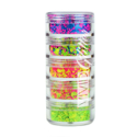 Picture of Vivid Glitter Stackable Glitter Gel - Galactic Glow UV 5pc (25g)