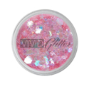 Picture of Vivid Glitter Glitter Gel - Mystic Melon  (25g)