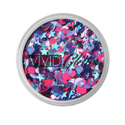Picture of Vivid Glitter Glitter Gel - Blazin Unicorn  (25g)