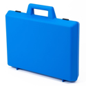"Picture of Empty Large Briefcase - Blue (Inside: 15.75"" x W=11.25"" x H=3"")"