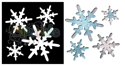 Picture of Snow Flurry - Sparkle Stencil (1pc)