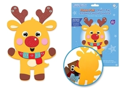 Picture of DIY Foam-Fun Craft Pal Kit Peel-n-Stick - Reindeer ( KX192 )