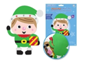Picture of DIY Foam-Fun Craft Pal Kit Peel-n-Stick - Elf ( KX192 )