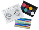 Picture of Mehron - The Gypsy Shrine Face & Body Makeup Palette With Jewel Set