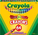 Picture of Crayola Crayons with Sharpener - 64 pc