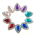 Picture of Double Teardrop Gems - Assortment - 10mm (10 pcs) (AG-DT4)
