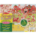 Picture of Melissa & Doug Scratch and Sniff Sticker Pad: Fruitville