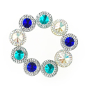 Picture of  Double Round Gems - Frozen Set - 12mm  (9 pc.) (AG-DRM1)