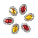 Picture of Double Oval Gems - Royal Set - 13x18mm (6 pcs) (AG-DO3)
