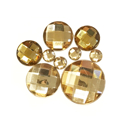 Picture of Round Gems - Champagne - 5 to 20mm (9 pc) (SG-RCh)