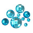 Picture of Round Gems - Turquoise - 5 to 20mm (9 pc) (SG-RT)
