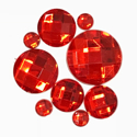 Picture of Round Gems - Red - 5 to 20mm (9 pc) (SG-RR)
