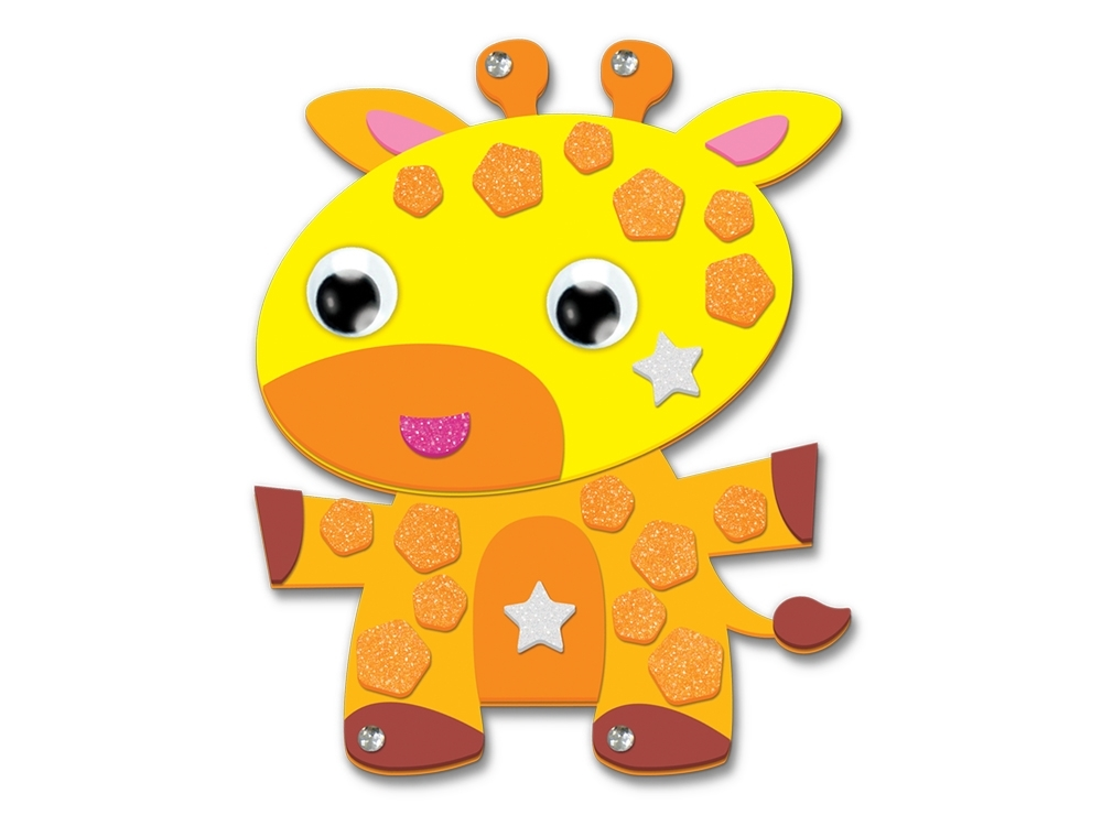 Picture of Krafty Kids Kit: DIY Foam Friends Craft Kit - Giraffe (CK192-M)