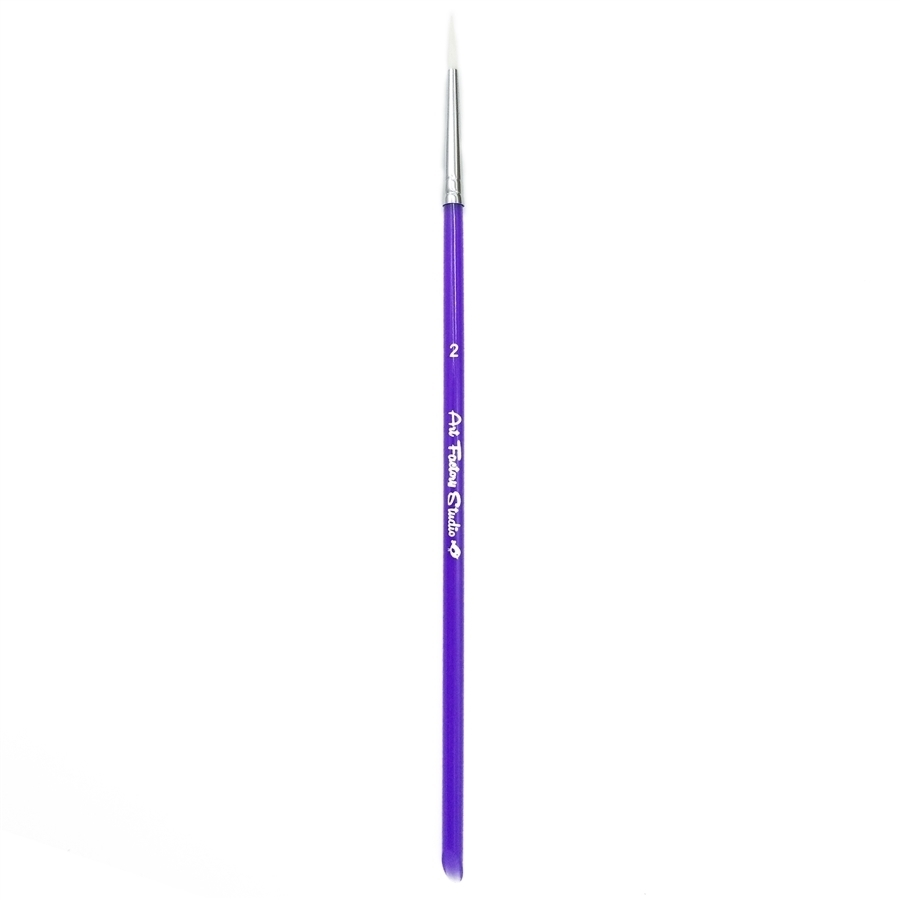 Picture of Art Factory Studio Brush Acrylic Handle - Round - #2