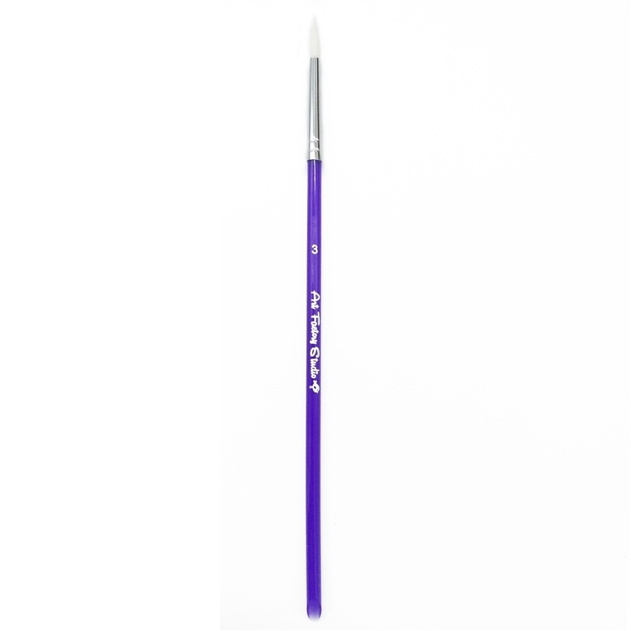 Picture of Art Factory Studio Brush Acrylic Handle - Round - #3