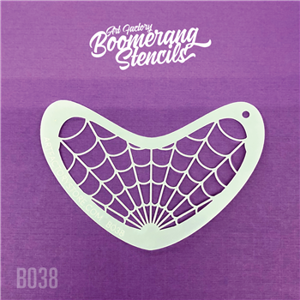 Picture of Art Factory Boomerang Stencil - Spider Web (B038)