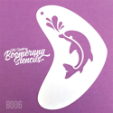 Picture of Art Factory Boomerang Stencil - Dolphin (B006)