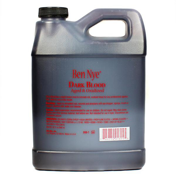 Picture of Ben Nye Dark Blood Aged & Oxidized - 32oz (DSB7)