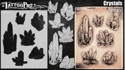 Picture of Tattoo Pro Stencil -  Crystals  (ATPS182)