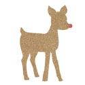 Picture of Rudolph Glitter Tattoo Stencil - HP (5pc pack)