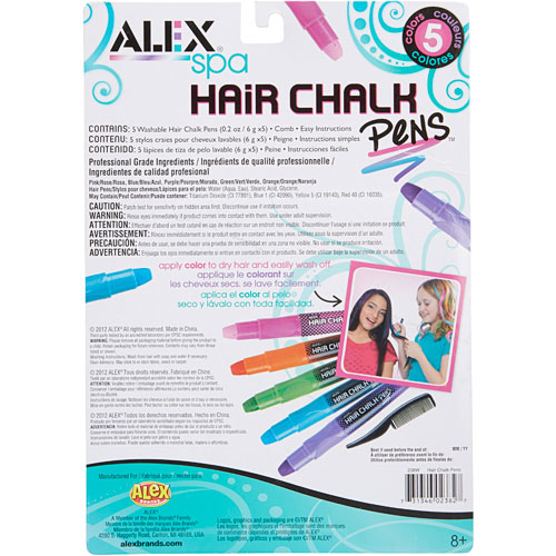 Picture of Alex Spa Hair Chalk Pens (5pc)