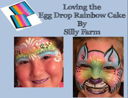 Picture of Silly Farm - Egg Drop Rainbow Cake - 50G