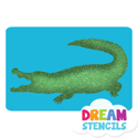 Picture of Alligator Glitter Tattoo Stencil - HP (5pc pack)