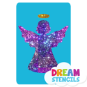 Picture of Angel Glitter Tattoo Stencil - HP (5pc pack)