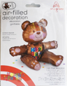 Picture of Air-Filled Decoration - Happy Birthday Bear  (1pc)