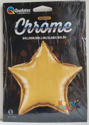 "Picture of 20"" Chrome Gold Star (1pc)"