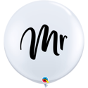 Picture of Qualatex 3FT Round - Mr. Balloon (2/bag)