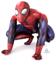 "Picture of Giant Spiderman  Air Walker Balloon (36""X 36'')"