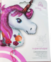 "Picture of 33"" Magical Unicorn Foil Balloon (1pc)"