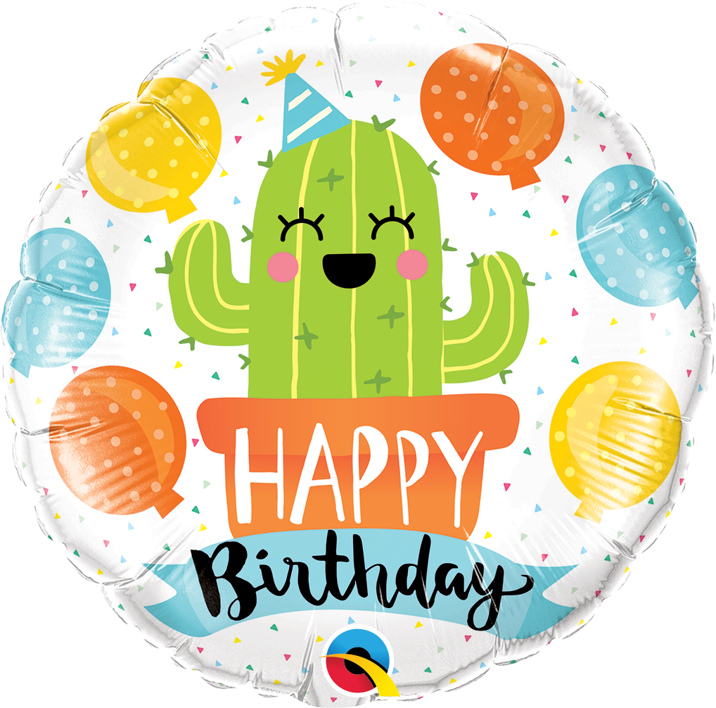 Picture of 18''Birthday Party Cactus Foil Balloon (1pc)