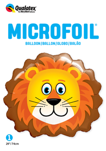 "Picture of 29"" Lovable Lion Foil Balloon (1pc)"