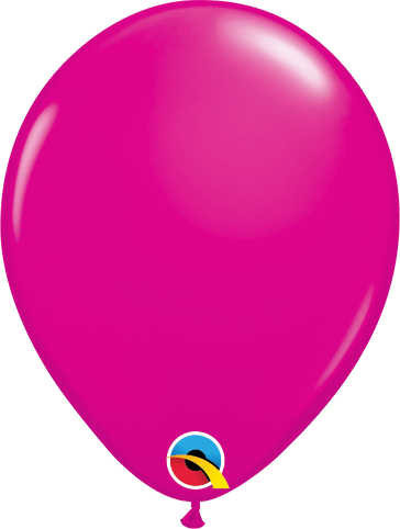 "Picture of Qualatex 5"" Round - Wild Berry Balloons (100/bag)"