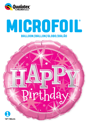 "Picture of 18""  Birthday Pink Sparkle Foil Balloon (1pc)"