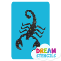 Picture of Scorpion - 2  Glitter Tattoo Stencil - HP-204 (5pc pack)