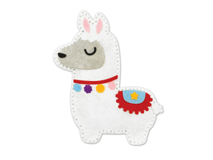 Picture of Krafty Kids Kit: DIY Felt Friends Sewing Kit - Llama (CK191I)