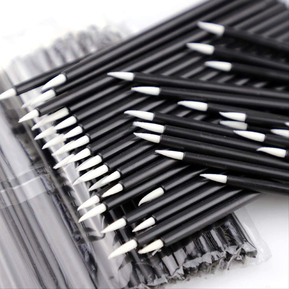 Picture of Detail Applicator -  Disposable Eyeliner Brushes  - 50Pcs