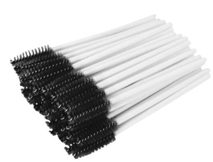Picture of White Mascara Wand -  Disposable Eyelash Brushes  - 50Pcs