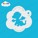Picture of Baby Dragon - Dream Stencil - 19