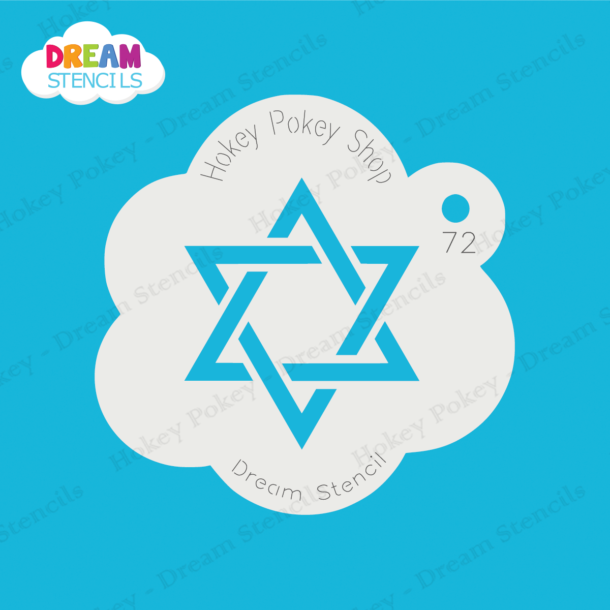 Picture of Star of David - Dream Stencil - 72